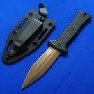 Zero Tolerance 美国零误差 0150 Bronze and Black Fixed Blade双刃军用靴刀